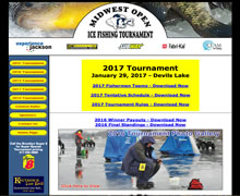 Midwest Open Ice Fishing Tournament
